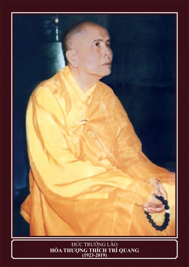 Chân Dung Trưởng Lão HT Thích Trí Quang